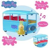 Peppa Pig Miss Rabbit's School Bus Playset
