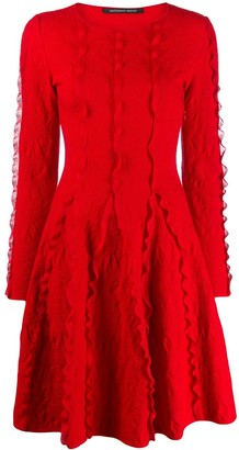 Antonino Valenti Long Sleeve Knit Dress