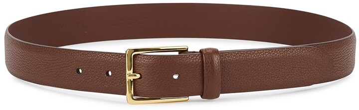 Thumbnail for your product : Andersons Dark Brown Leather Belt
