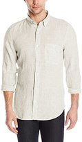 7 For All Mankind Men's Long-Sleeve Lightweight Oxford Shirt