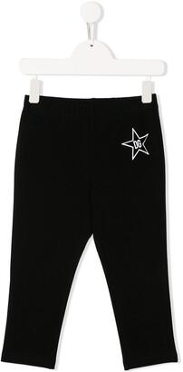Dolce & Gabbana Logo Star Print Leggings