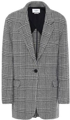 Etoile Isabel Marant Ondine checked wool-blend jacket