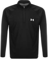 Under Armour Half Zip Tech Sweatshirt Black