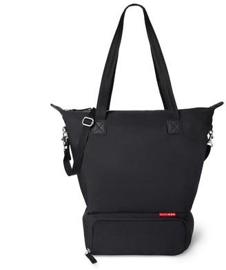 Skip Hop Tray Chic Dry & Store Pump Bag, Black