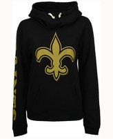Junk Food Clothing Women's New Orleans Saints Logo Funnel Hoodie