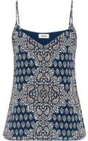 L'Agence Printed Silk Camisole