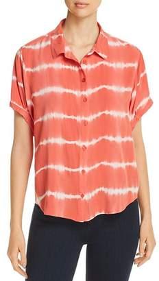 Velvet Heart Short-Sleeve Tie-Dye Shirt
