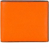 Valextra grained detail wallet - women - Leather - One Size
