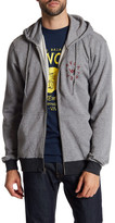 RVCA Circular Front Zip Hooded Sweatshirt