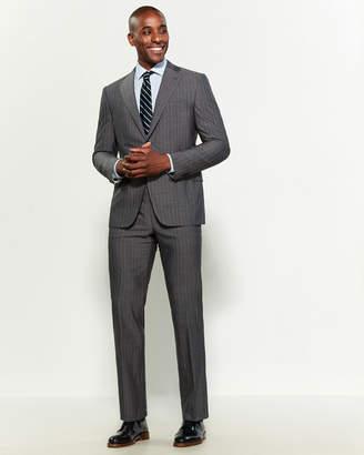 Corneliani Virgin Wool Stripe Suit