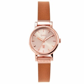 OWL Women's Analogue Japanese Quartz Watch with Stainless Steel Strap A6SRT