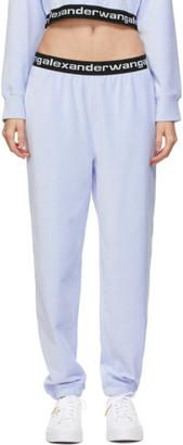 alexanderwang.t Blue Stretch Corduroy Lounge Pants