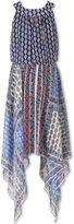 Speechless Sleeveless Pattern Maxi Dress - Big Kid Girls Plus