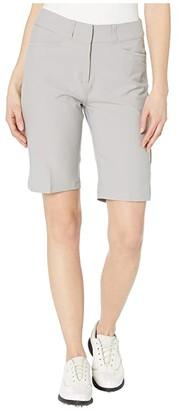 adidas Solid Bermuda Shorts (Medium Solid Grey) Women's Shorts