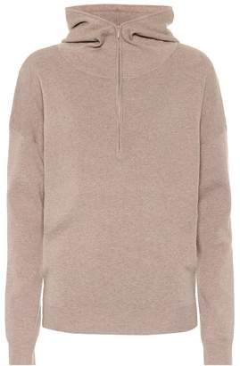 Live The Process Cashmere and silk-blend hoodie