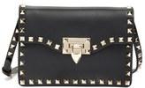 Valentino 'Rockstud' Calfskin Leather Shoulder Bag