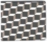Pierre Hardy geometric pattern flat wallet - men - Calf Leather - One Size