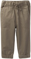 Andy & Evan Casual Twill Joggers (Baby Boys)