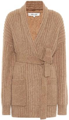 Diane von Furstenberg Ilaria merino wool-blend cardigan