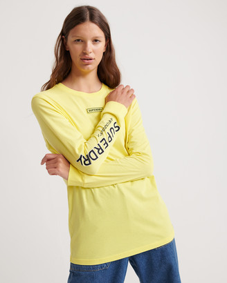 Superdry Skate Graphic Long Sleeved Top
