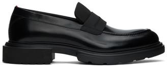 HUGO BOSS Black Dart Loafers