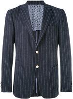 Z Zegna pinstripe blazer - men - Cotton/Spandex/Elastane/Cupro/Wool - 46