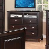 Glory Furniture Sera 4 Drawer Media Chest