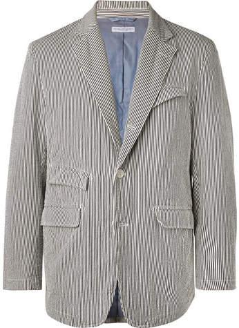 f5c77b80be Men Blazer Cotton Unstructured - ShopStyle