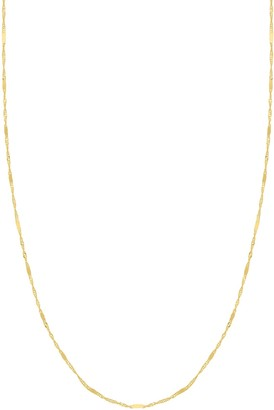 Saks Fifth Avenue 14K Yellow Gold Single Strand Necklace