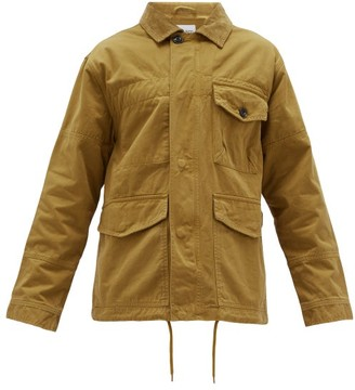 Albam Foundry Cotton-twill Jacket - Brown