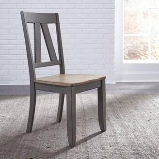 Gracie Oaks Kruger Splat Back Dining Chair (Set of 2) Gracie Oaks