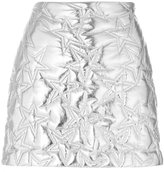 MSGM quilted star skirt