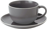 Gordon Ramsay Bread Street Breakfast Cup & Saucer Slate