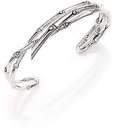 John Hardy Women's Bamboo Sterling Silver Multi-Row Cuff Bracelet