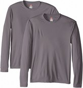 Hanes Men's 2 Pack Long Sleeve Cool Dri T-Shirt UPF 50+