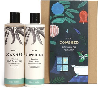 Cowshed Relax Full Size Bath & Body Set