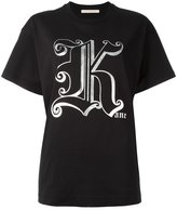 Christopher Kane Gothic K T-shirt - women - Cotton - S