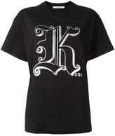Christopher Kane - t-shirt Gothic K