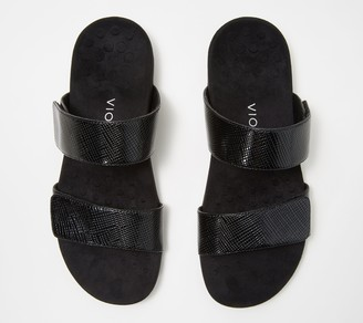 Vionic Slide Sandals - Samoa Lizard