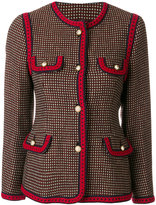 Gucci - polka dot pattern jacket
