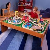 Kid Kraft Ride Around Town Train Table and Set