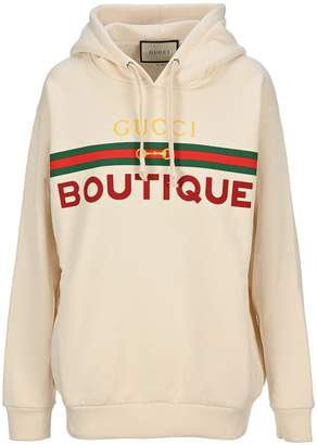 Gucci Boutique Drawstring Hoodie