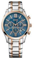 HUGO BOSS Stainless Steel Rose-Gold Tone Chronograph Watch 1513321 One Size Assorted-Pre-Pack