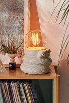Urban Outfitters Ceramic Snake Table Lamp Base
