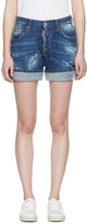 DSQUARED2 Blue Kawaii Shorts