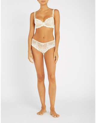 Wacoal Embrace Lace stretch-lace underwired bra