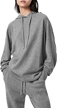 AllSaints Olly Cashmere Blend Hoodie