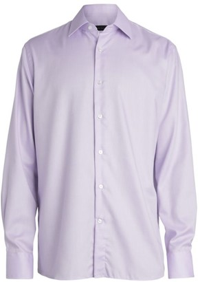 Saks Fifth Avenue COLLECTION Solid Dress Shirt