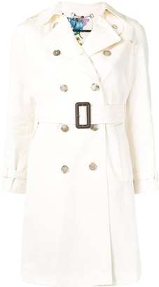 Gucci Pre Owned Thigh-Length Trench Coat