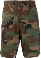 Polo Ralph Lauren camouflage seersucker shorts